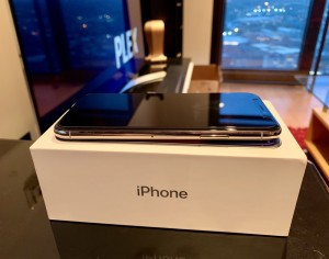 iPhone X 256gb Silver Unlocked Mint Condition