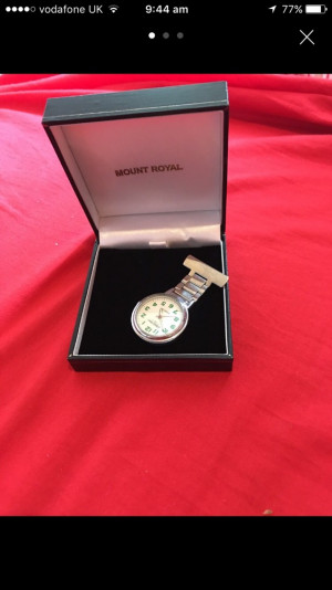 Fob watch new £15