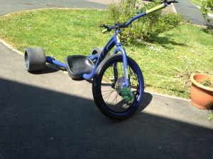 Huffy slider pro drift trike