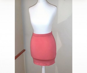 Pink skirt size 4