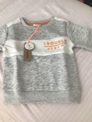 River island baby boy grey tracksuit new with tags age 6-9 months