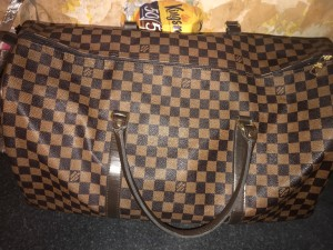 Louis Vuitton duffle bag Real