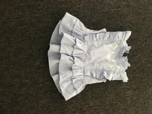 River Island girls peplum shirt. Size 6-9 months