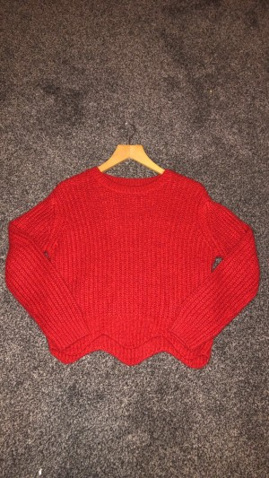 Red new look jumper