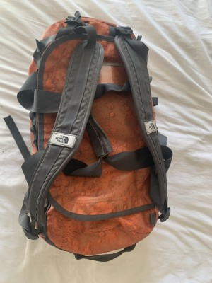 North face duffle bag