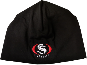 New URSUIT Knitted Black Beanie Hat