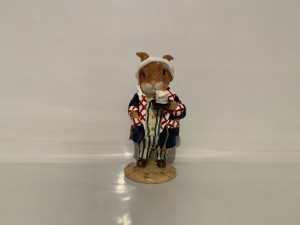 Vintage Russell Rabbit Figure Tales of Honeysuckle Hill Gifts Ornament