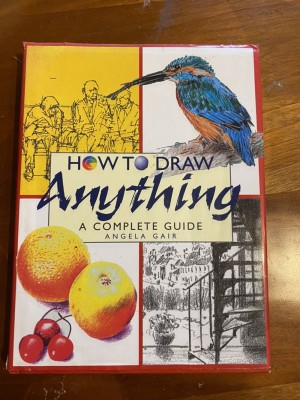 How to draw anything - art book