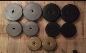 Vinyl weights for sale or swaps
