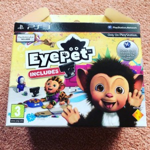 PS3 EyePet Friends With PlayStation Eye Box Set Brand New Game Simulat