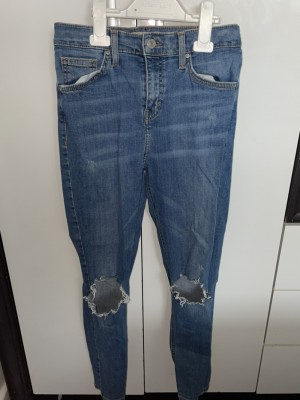 Ripped topshop jeans