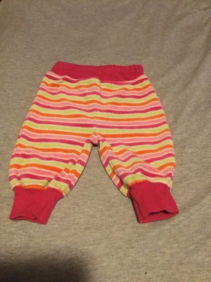 Baby Girls Multi-Coloured Trousers - Aged 2-4 Months