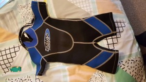 toddler wet suit