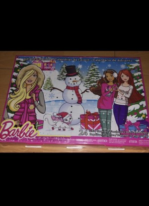 Barbie Advent Calendar Sealed