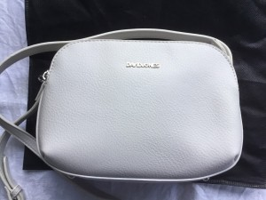 David Jones shoulder bags white & black