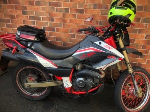 keeway tx 150cc big bore only selling as new bike needs carb cleaning