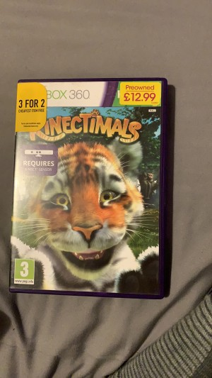PREOWNED xbox360 kinectanimals game