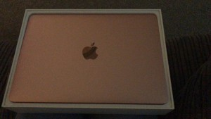 """Apple MacBook 12"""" 2017 model rose gold immaculate condition only used a few times like new"""