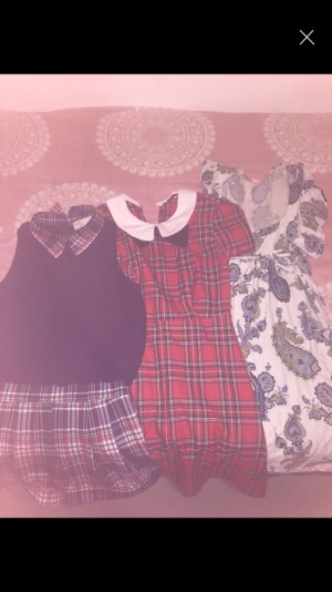 Dresses/jumpers/play suits all need to go