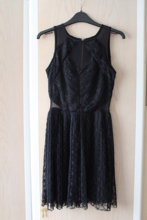 Black midi dress size 12