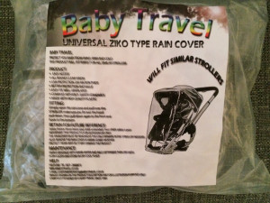 Buggy rain cover. Universal fit. Never been used.