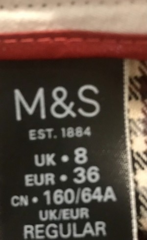M&S Smart Trousers 8 -free shipping