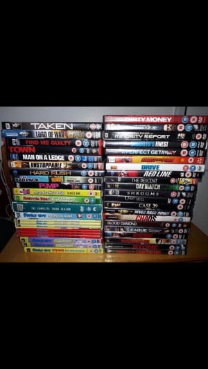 Selection of DVD's // Mixed Genre // £15 for the lot // 50p per DVD
