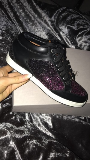 jimmy choo size 4 worn once as two small excellent condition comes with box and dust bag paid £395