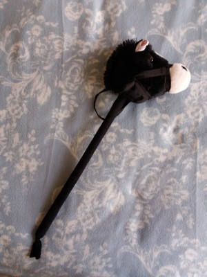 Child's Hobby Horse with Neighing Noises