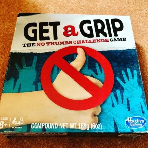 Get A Grip Family Board Game with Electronic Cube by Hasbro Party Holi