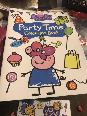 Peppa pig colouring books