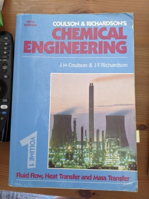 Chemical Engineering Vol. 1 by Coulson & Richardson