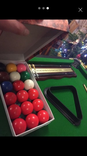 Snooker table 6ft