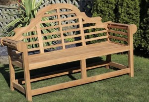 Brand New Luytens Teak Bench