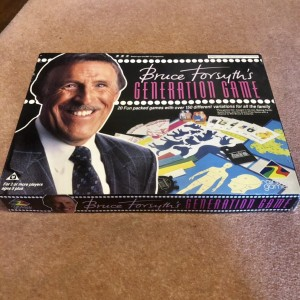 Bruce Forsyth 1990 Generation Vintage Retro Board Game By Rainbow Game