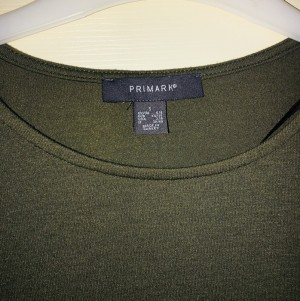 Primark size S Khaki top - never worn but tags removed