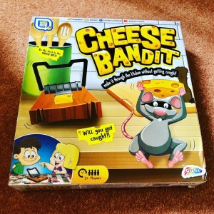 Cheese Bandit Will You Get Caught Family Board Game Party Holiday Fun