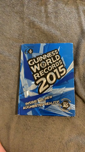 GUINESS WORLD BOOK OF RECORDS 2015