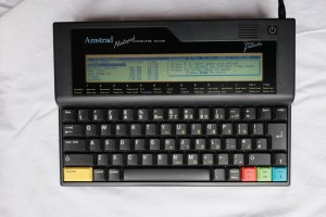 Amstrad NC100 Notepad Laptop Computer Fully Working 1992 Complete