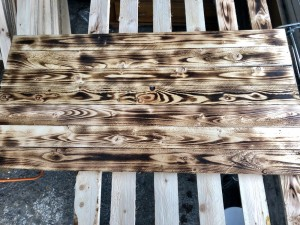 Rustic NEW pallet wood wall cladding