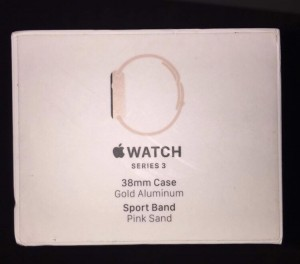 Apple Watch series 3 brand new comes with box and charger