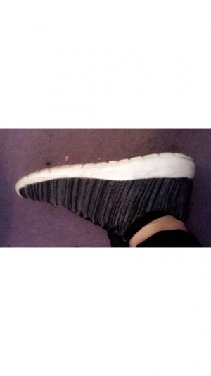 Nice striped shoes size 6