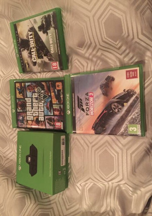 Assortment of Xbox one games + accessories