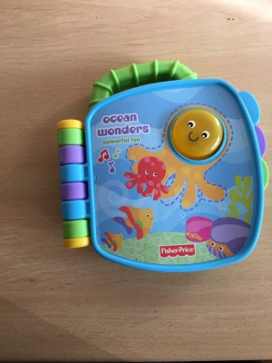 Fisher price ocean wonders book