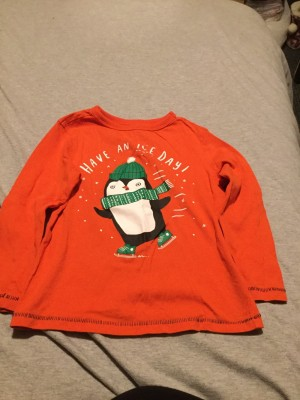 Boys Christmas Long Sleeved Top - Aged 2-3 Years
