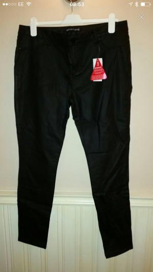 Leather Look Women's Trousers