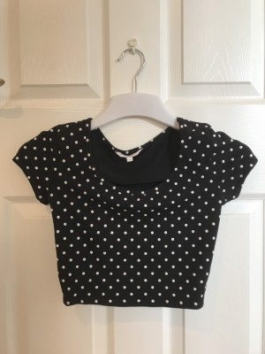 New Look cropped top - size 8