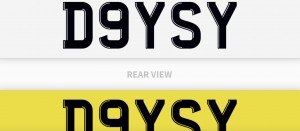 DAISY D9YSY Cherished Licence Plate