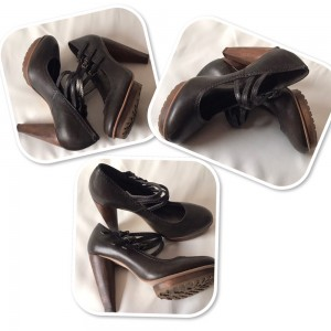 Stunning French Connection Leather Women's   Heels