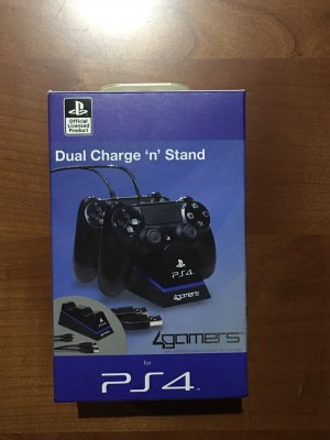 PS4 - Dual Charge 'n' Stand